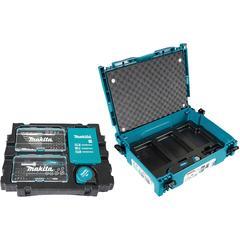 Makita Werkzeugset B-49884, (Set, 116 St.), inklusive Zubehör blau Profi-Werkzeug Werkzeug Maschinen