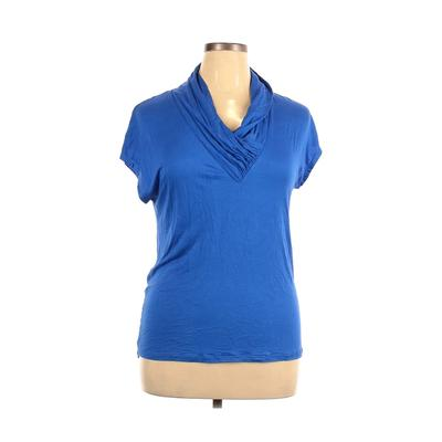 Pomelo Short Sleeve Top Blue Sol...