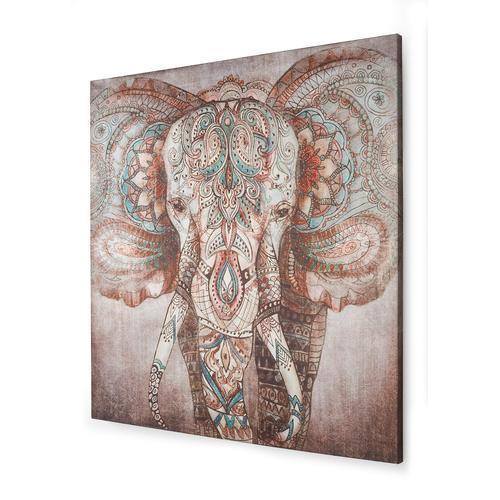Bild mit Elefant