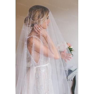 Voile De mariée blanc/ivoire Lon...