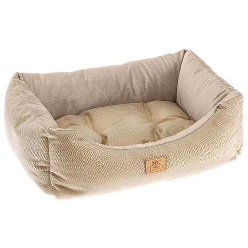 Ferplast Hunde- und Katzenbett Chester 80 Beige