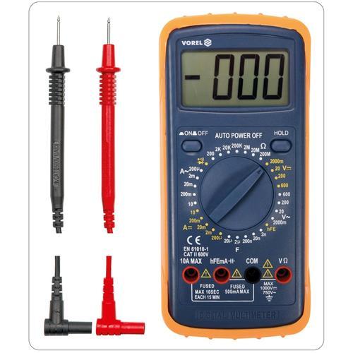 VOREL Universal Multimeter Digital