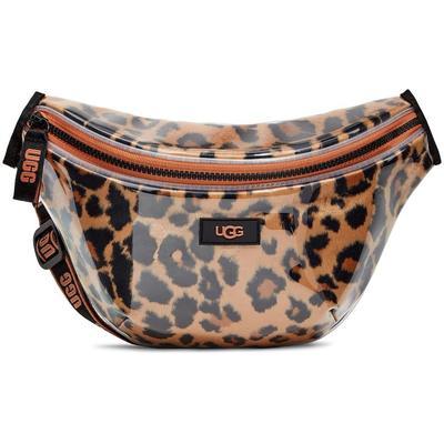 Nasha Belt Bag Clear Faux Fur Handbags - Brown - Ugg Belt Bags