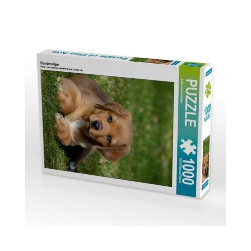 Hundewelpe Foto-Puzzle Bild von Antje Lindert-Rottke Puzzle