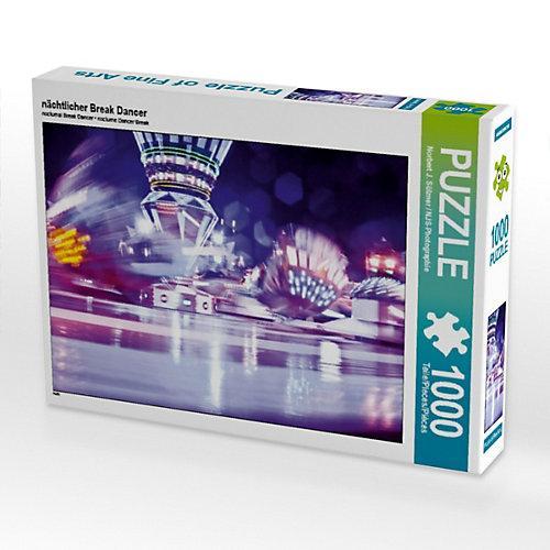 nächtlicher Break Dancer Foto-Puzzle Bild von NJS-Photographie Puzzle