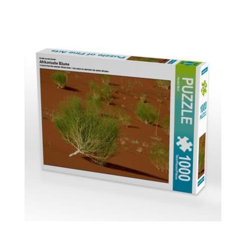 Afrikanische Bäume Foto-Puzzle Bild von Gerald Wolf Puzzle