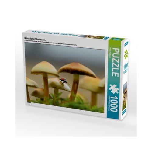 Glücklicher Marienkäfer Foto-Puzzle Bild von Heike Hultsch Puzzle