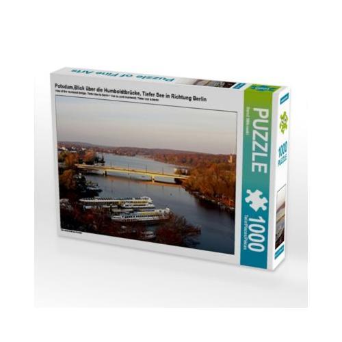 Potsdam,Blick über die Humboldtbrücke, Tiefer See in Richtung Berlin Foto-Puzzle Bild von Mico10 Puzzle