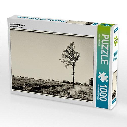 Einsamer Baum Foto-Puzzle Bild von Michael Schnell Puzzle