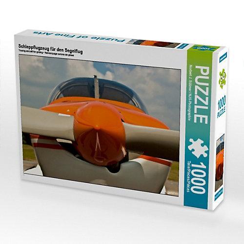 Schleppflugzeug den Segelflug Foto-Puzzle Bild von NJS-Photographie Puzzle Kinder