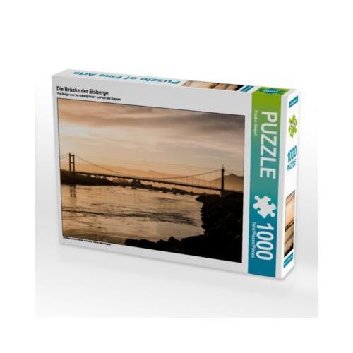 Die Brücke der Eisberge Foto-Puzzle Bild von Trans Pond Puzzle