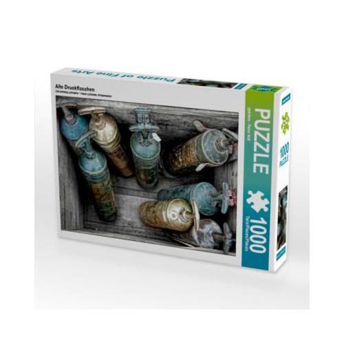 Alte Druckflaschen Foto-Puzzle Bild von ppicture - Petra Voß Puzzle