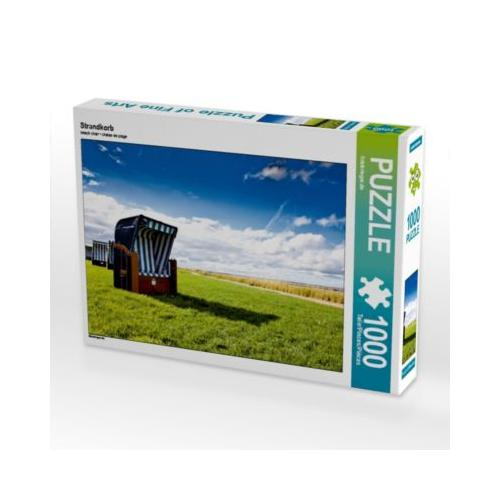 Strandkorb Foto-Puzzle Bild von fotokrieger.de Puzzle