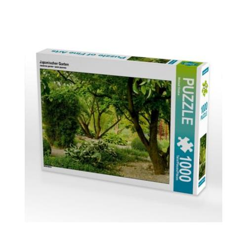 Japanischer Garten Foto-Puzzle Bild von Michael Bücker Puzzle