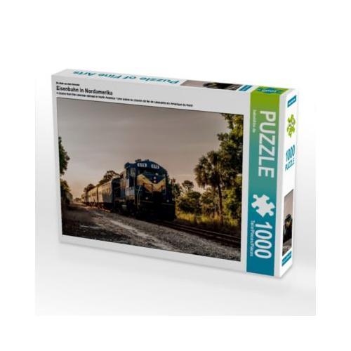 Eisenbahn in Nordamerika Foto-Puzzle Bild von Jan van Dyk Puzzle