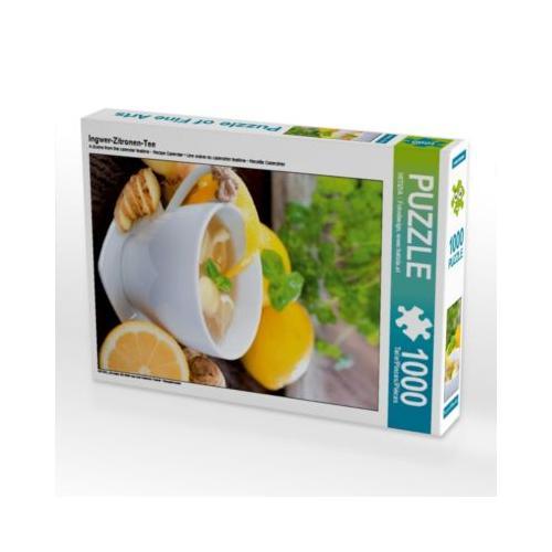Ingwer-Zitronen-Tee Foto-Puzzle Bild von Christina Lesjak Puzzle