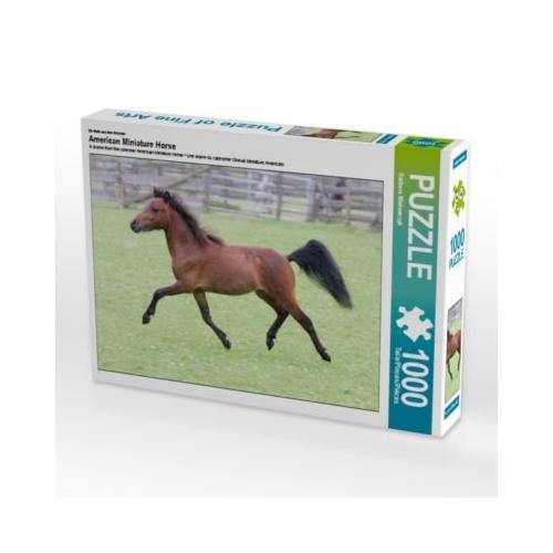American Miniature Horse Foto-Puzzle Bild von Barbara Mielewczyk Puzzle