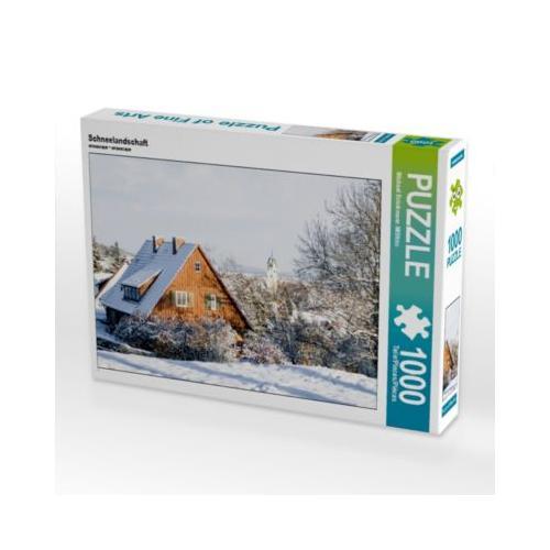 Schneelandschaft Foto-Puzzle Bild von MIBfoto Puzzle