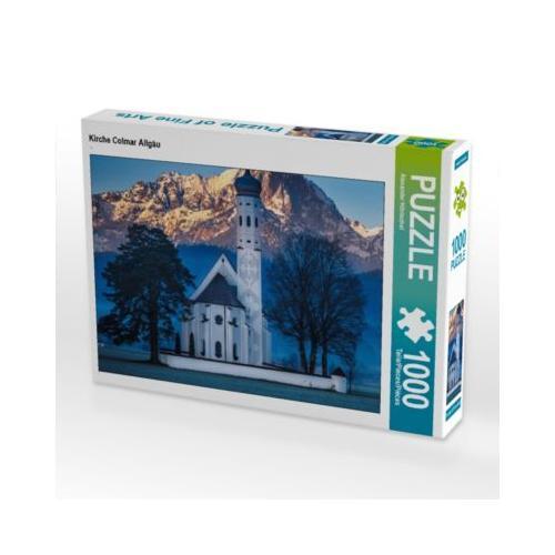 Kirche Colmar Allgäu Foto-Puzzle Bild von Alexander Höntschel Puzzle