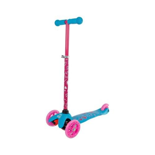 Van Manen Street Rider Dreiradroller (Kinderroller, Roller) aus Metall pink