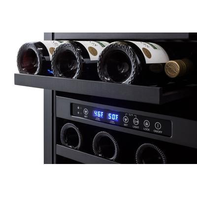 """""""18"""""""" Wide Built-In Wine Cellar, ADA Compliant - Summit Appliance SWC182ZCSSADA"""""""