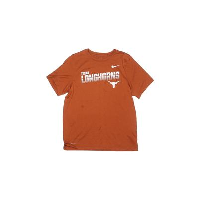 Nike Active T-Shirt: Orange Soli...