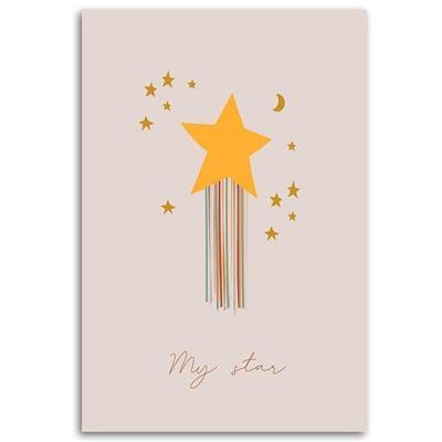 Tableau enfant enchanted star ro...