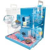 Maison hamster bleue de grande t...