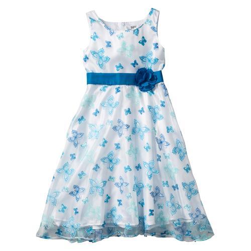 Festliches Mädchen Kleid mit Organza