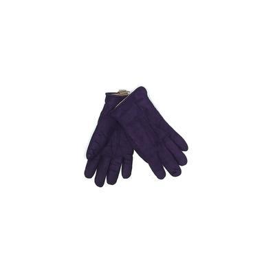 L.L.Bean Gloves: Purple Solid Accessories - Size Small