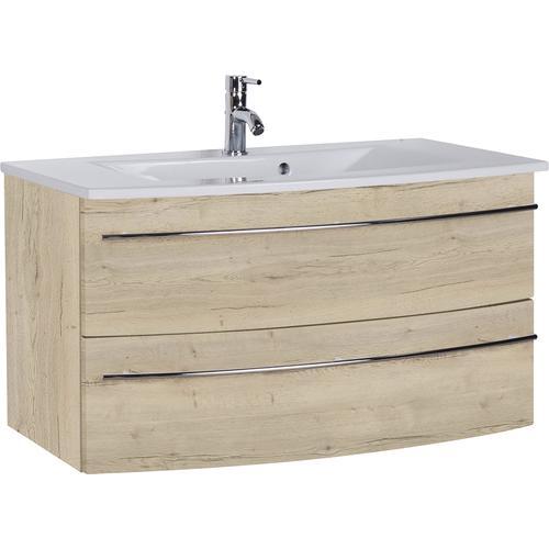 MARLIN Waschtisch, Breite 91 cm braun Waschtisch Waschtische Badmöbel