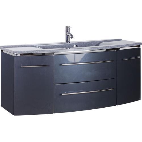 MARLIN Waschtisch, Breite 122 cm grau Waschtisch Waschtische Badmöbel
