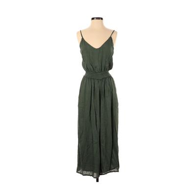 Wilfred Jumpsuit: Green Solid Ju...