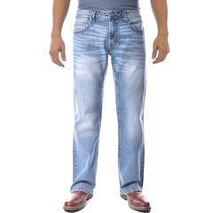 Axel Slim Boot Cut Denim Pants Light Wash Key West 34x30