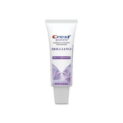 """Crest 3D White Brilliance Advanced Whitening Toothpaste, 0.85 Oz Tube (Pgc95732)"""