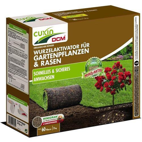 Cuxin DCM Wurzelaktivator für Gartenpflanzen & Rasen, NPK-Dünger 5-4-3, 3 kg
