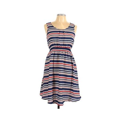 New Look Maternity Casual Dress: Blue Print Dresses - Used - Size 10