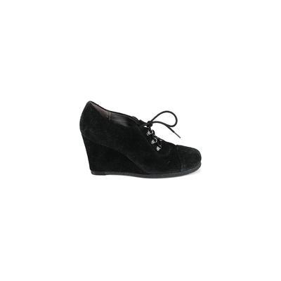 Aerosoles Wedges: Black Solid Shoes - Size 7 1/2
