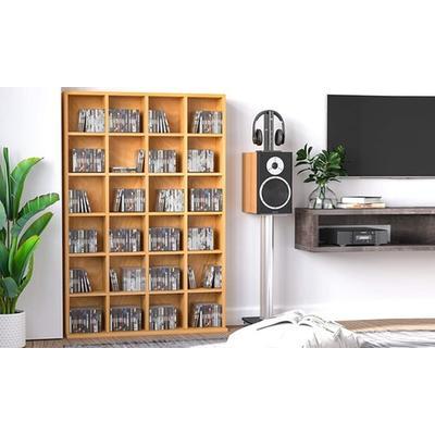 Media Storage Shelf: White