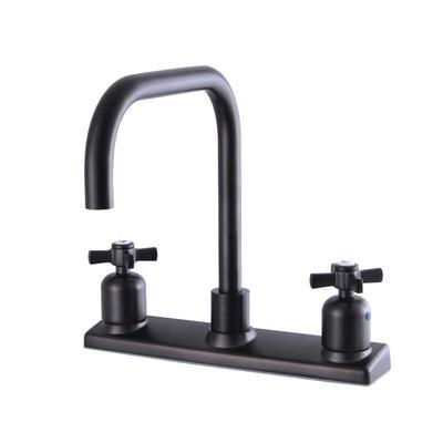 Kingston Brass FB2145ZX Millennium 8-Inch Centerset Kitchen Faucet, Oil Rubbed Bronze - Kingston Brass FB2145ZX