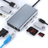 Hub Usb type-c 9-en-1 avec HDMI ...