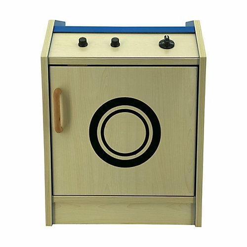 Kinder Waschmaschine Spielzeug aus Holz blau
