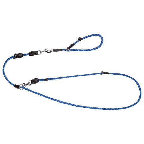 ZOOFARI® Hundeleine und Halsband (M/L, blau)