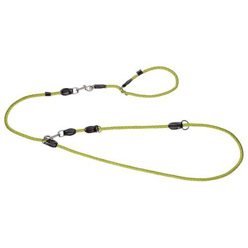 ZOOFARI® Hundeleine und Halsband (S/M, grün)