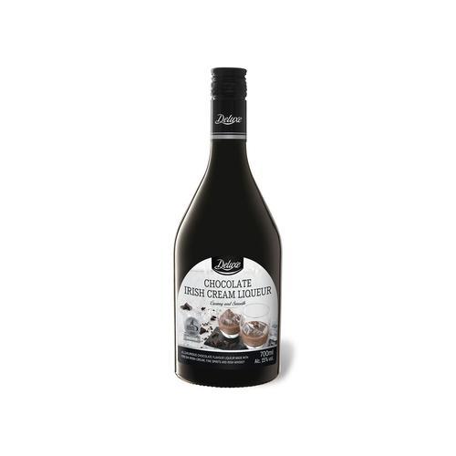 DELUXE Irischer Schokolade-Sahnelikör 15% Vol