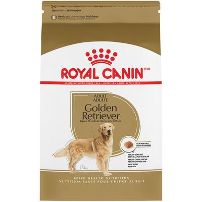 Royal Canin Breed Health Nutrition Golden Retriever Adult Dry Dog Food, 30 lbs.