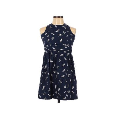 Nordstrom Casual Dress - A-Line: Blue Floral Dresses - Used - Size 12