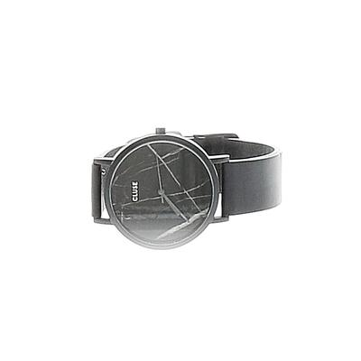 cluse Watch: Black Graphic Accessories