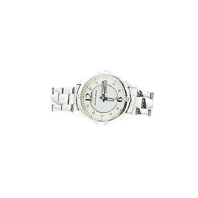 Saks Fifth Avenue Watch: Silver Graphic Accessories
