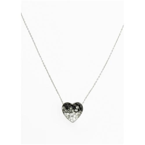 Halskette veredelt mit Kristallsteinen